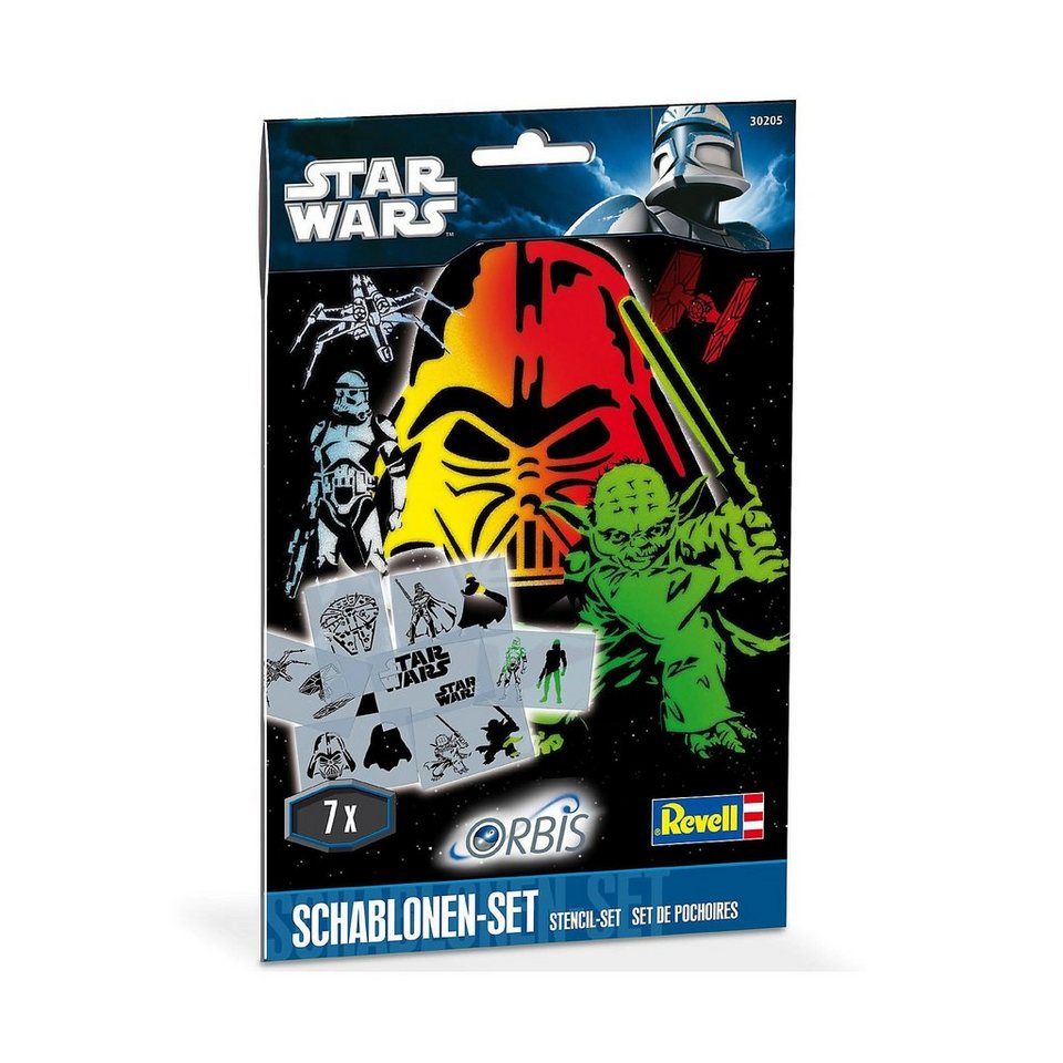 Revell Orbis 30205 Airbrush Schablonen-Set Star Wars