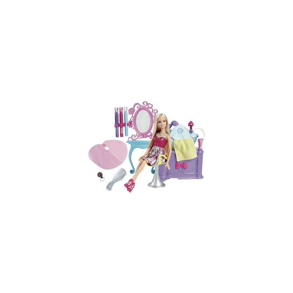 Mattel Barbie Glam Haar Styling Salon