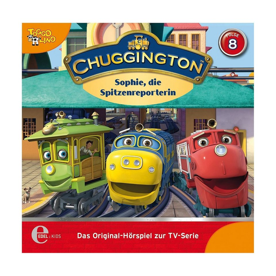 edel germany gmbh cd chuggington 8 sophie die spitzenreporterin online kaufen otto. Black Bedroom Furniture Sets. Home Design Ideas