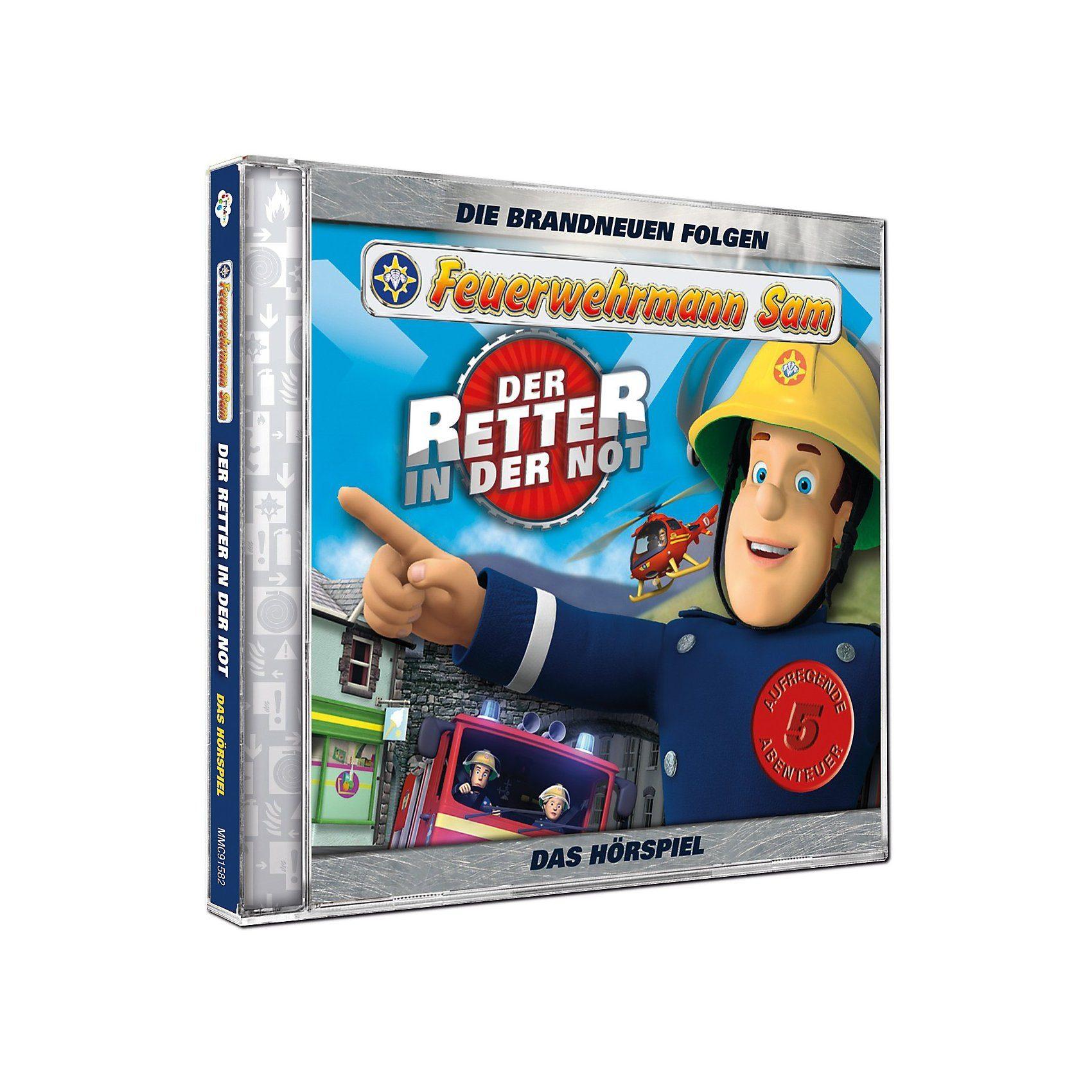 Just Bridge Entertainment CD Feuerwehrmann Sam - der Retter in der Not