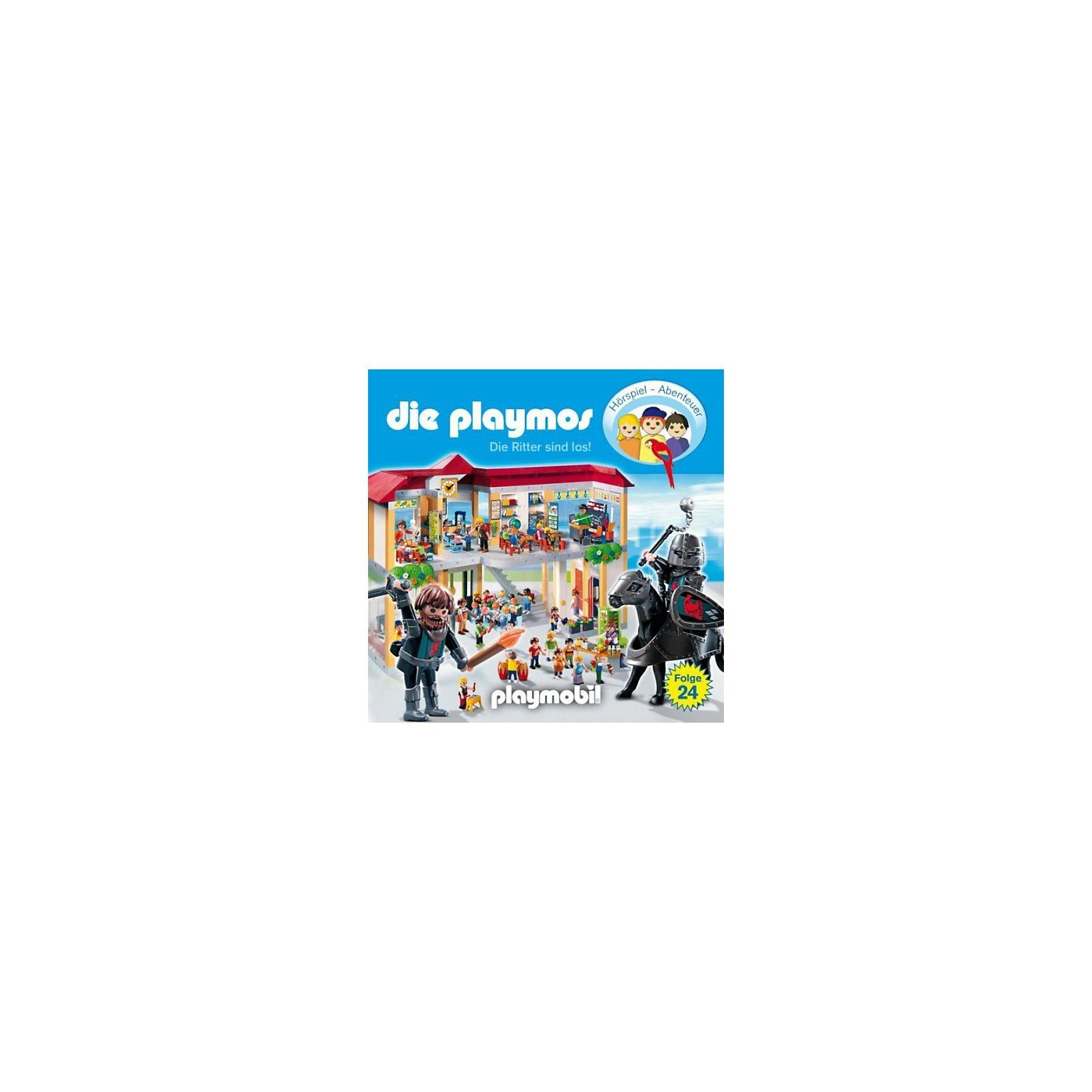 Edel Germany GmbH CD Die Playmos 24 - Die Ritter sind los!