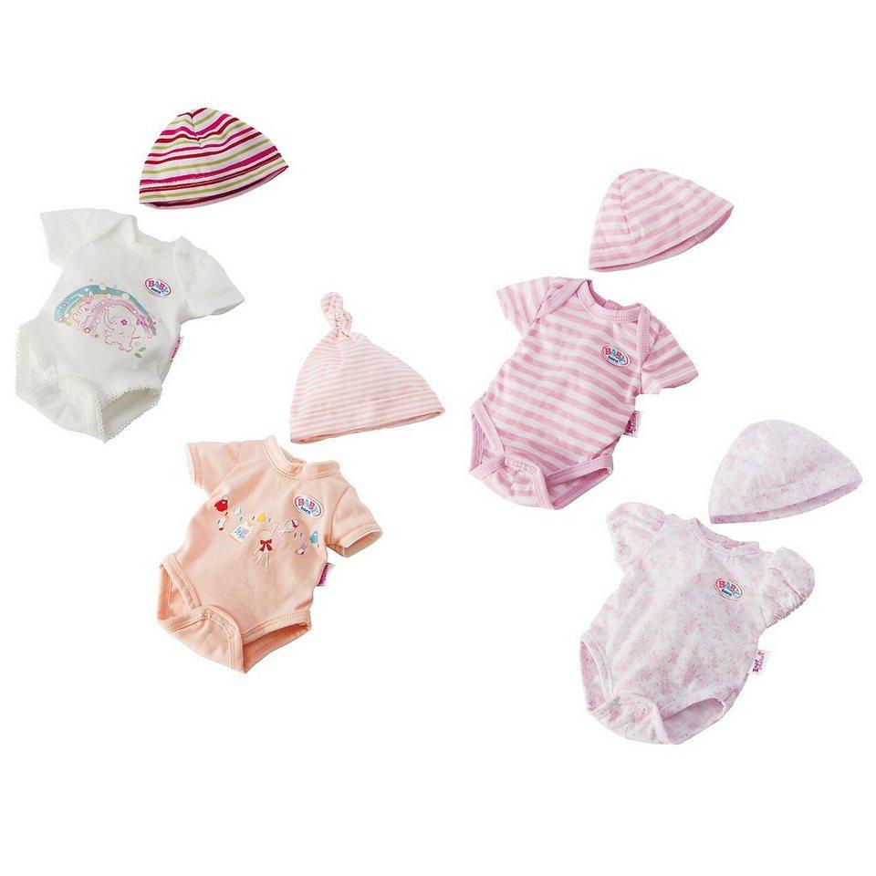 zapf creation baby born puppenkleidung body m tze 43 cm. Black Bedroom Furniture Sets. Home Design Ideas