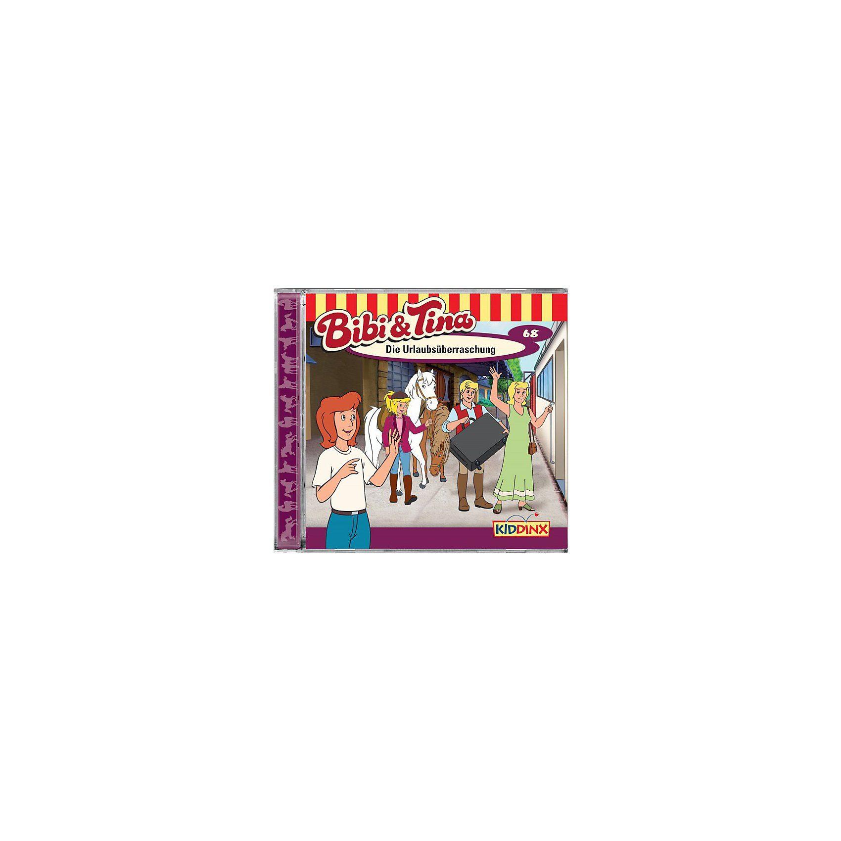 Kiddinx CD Bibi & Tina 68 - Die Urlaubsüberraschung