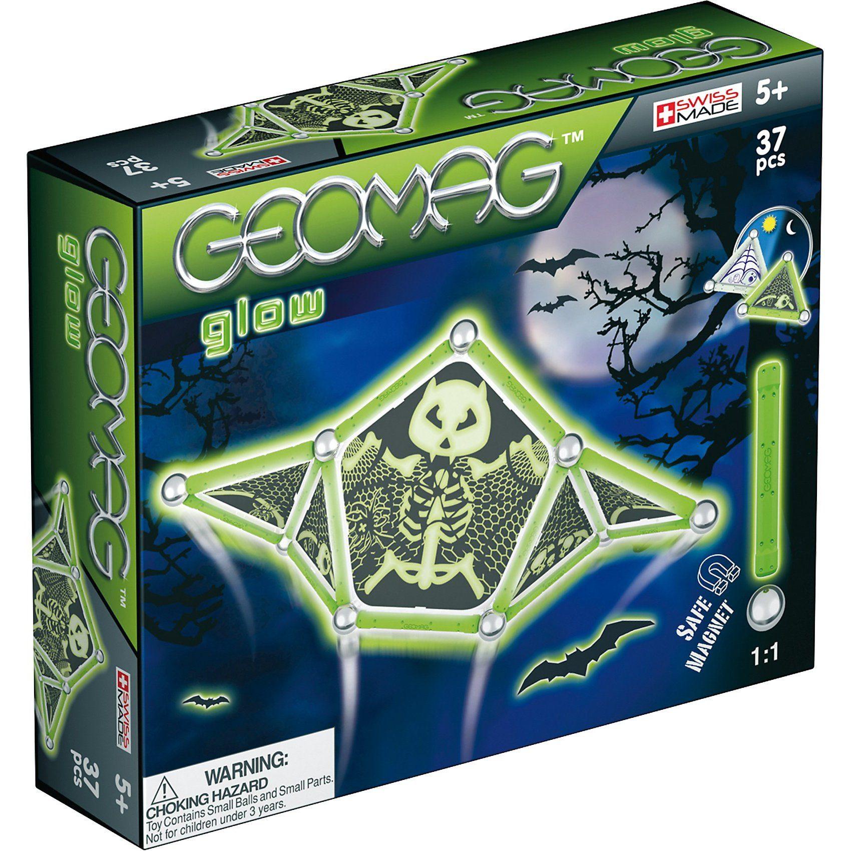 Geomag Glow, 37-tlg.