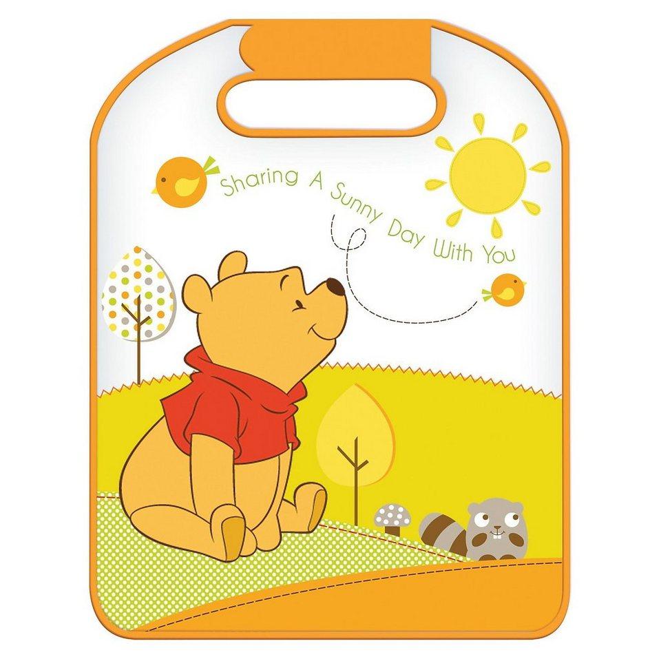 ProType Auto- Rückenlehnenschutz, Winnie Pooh in orange