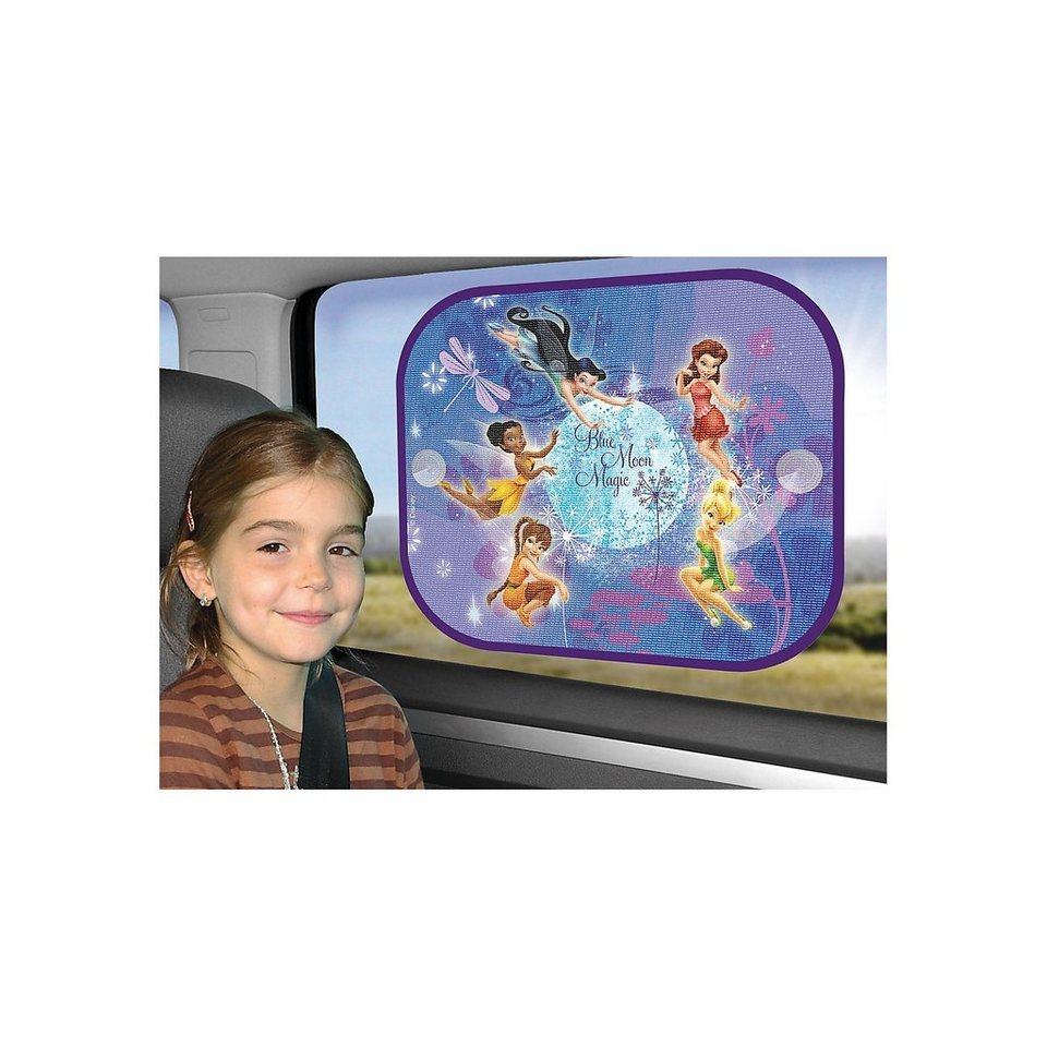 Kaufmann Sonnenschutz für Seitenscheibe, Disney Fairies, 2er Pack in blau