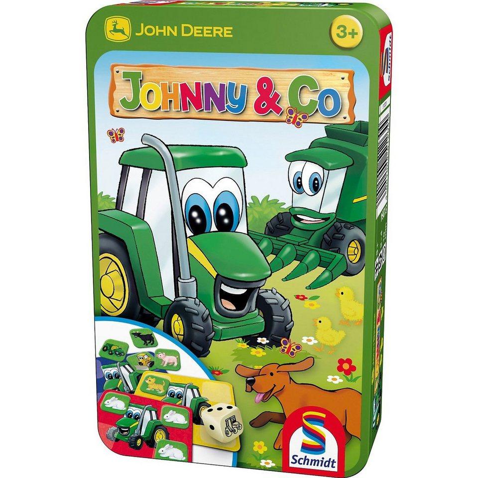 Schmidt Spiele Mitbringspiel John Deere, Johnny & Co.