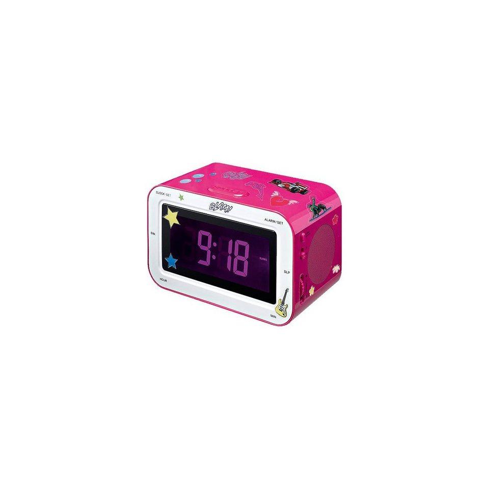 bigben Radiowecker RR30 Kids pink