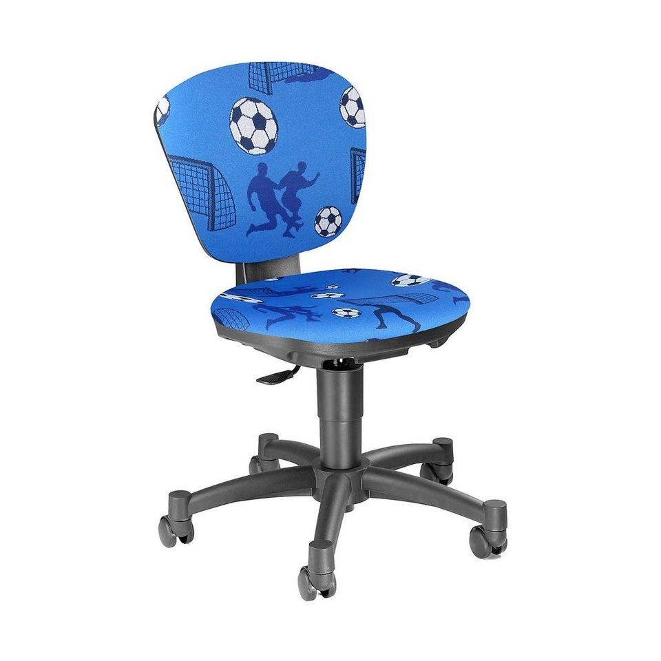 Topstar Drehstuhl Ergokid 15 Jet Soccer blau in blau
