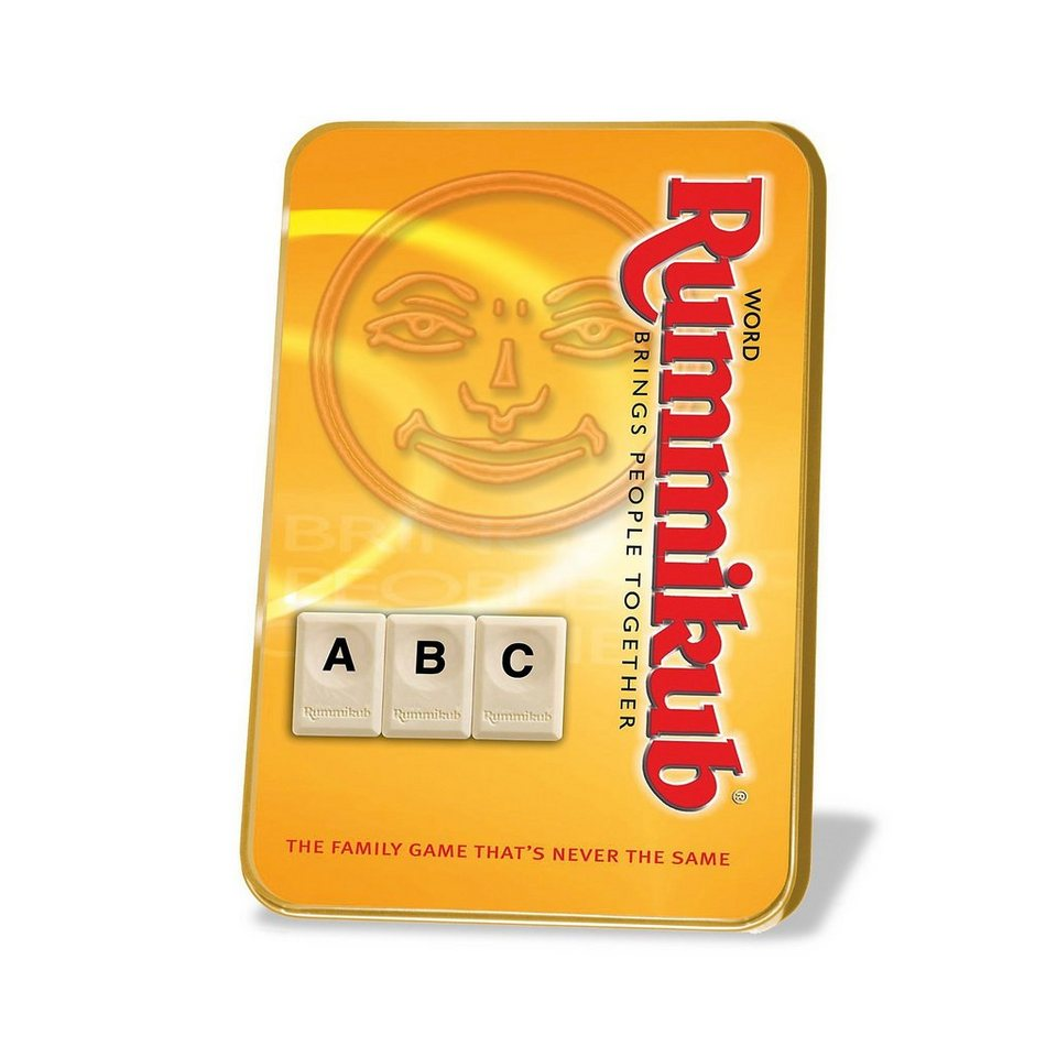 Jumbo Original Rummikub Wort Kompakt in Metalldose