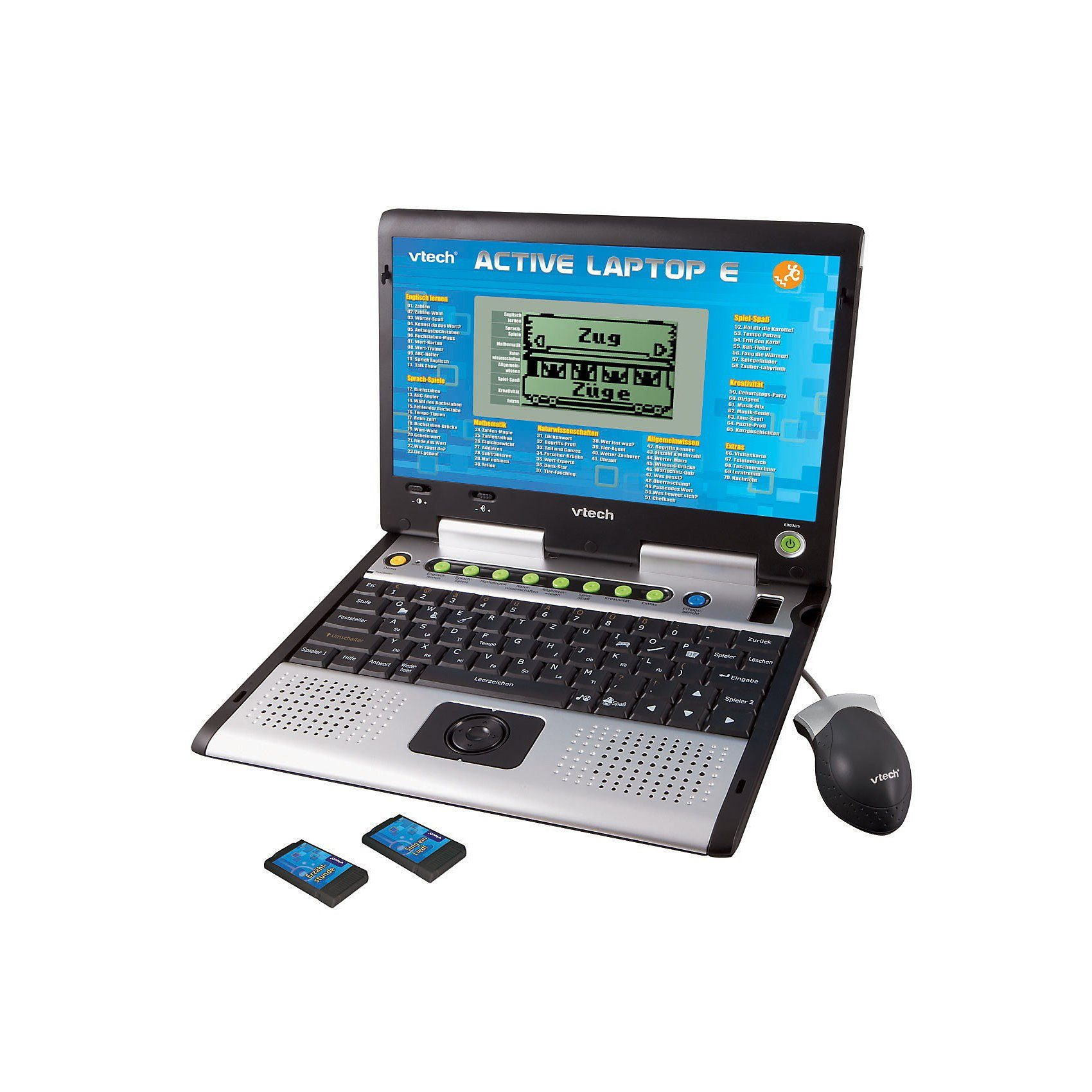 Vtech® Active Lern-Laptop (Sprachen: D/E)