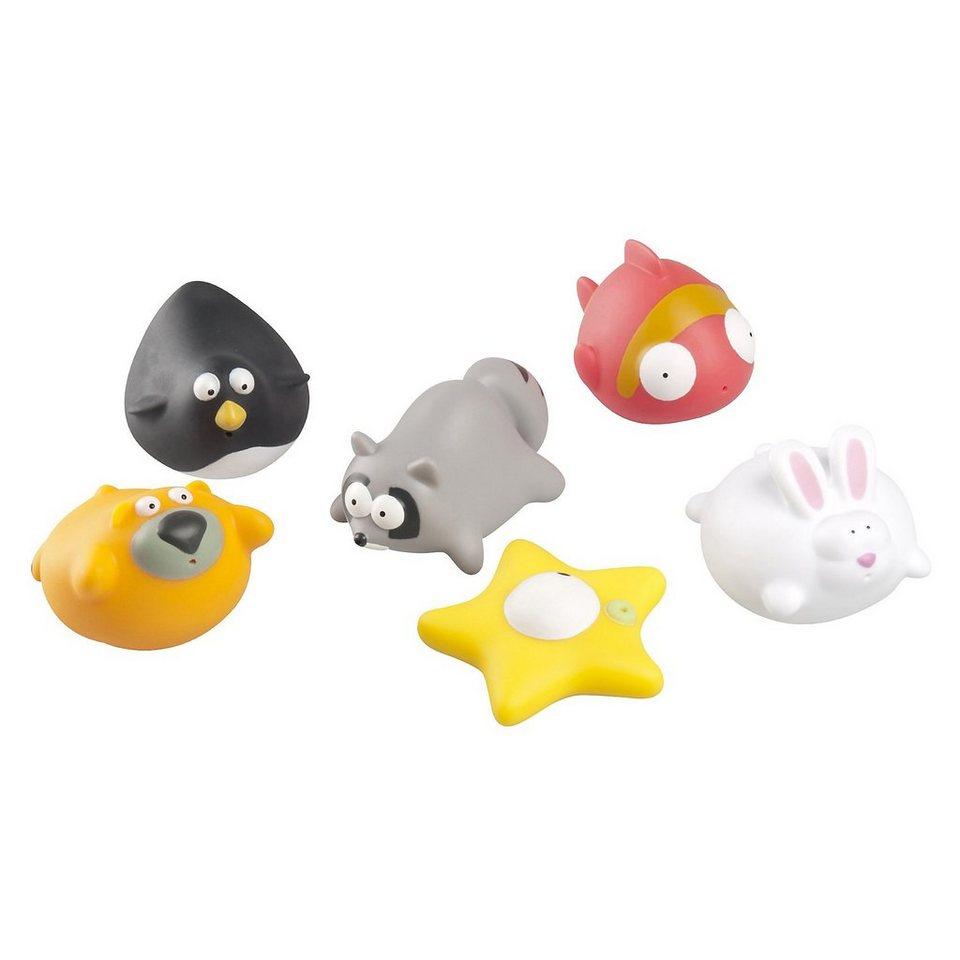 Babymoov Badefreunde Lustige Tiere, 6-tlg. in mehrfarbig