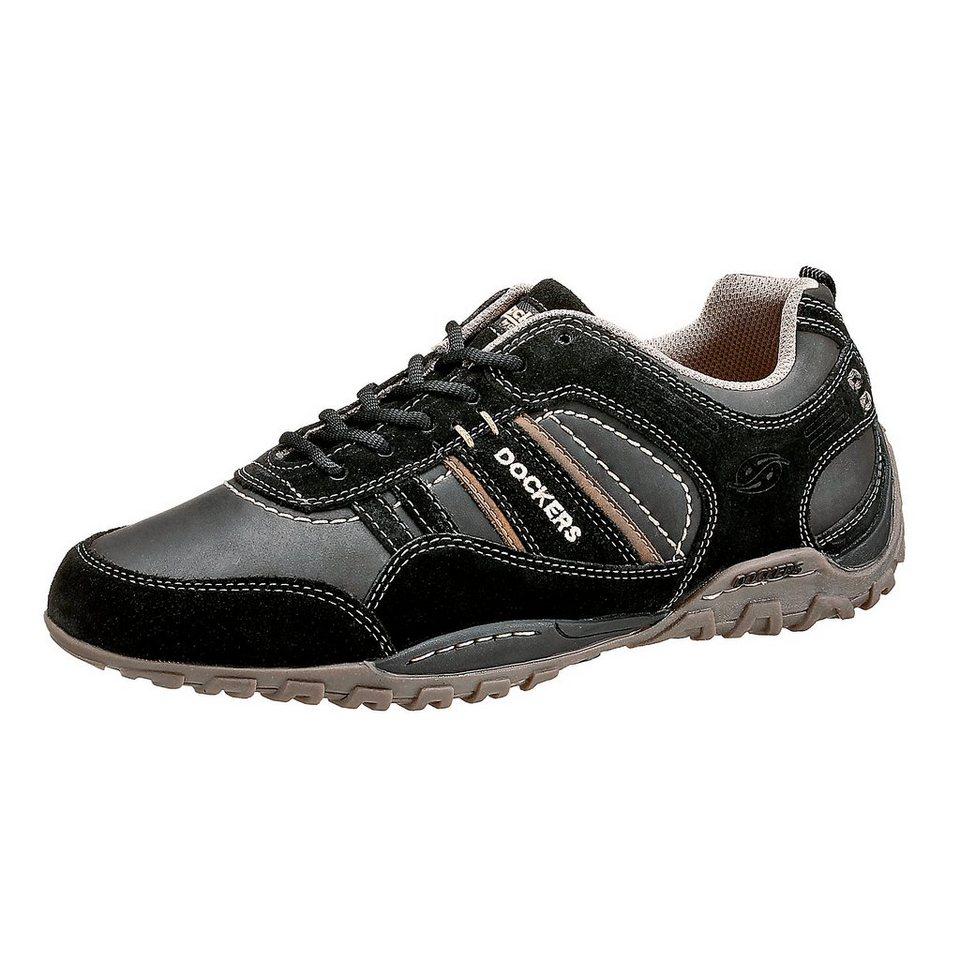 Dockers by Gerli Freizeit Schuhe in schwarz
