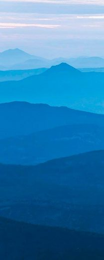 KOMAR Vliestapete »Blue Mountain«