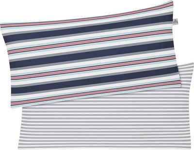 Kissenbezug »ECO 8190«, Irisette (1 Stück), aus zertifizierter Bio-Baumwolle