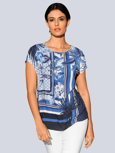 Alba Moda Blusenshirt im exklusiven Alba Moda Print
