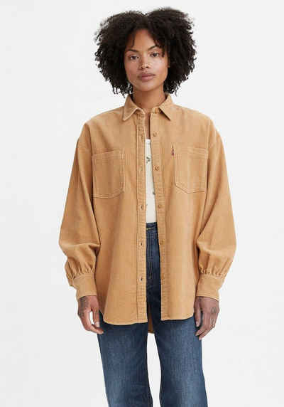 Levi's® Langarmbluse »Remi Utility Shirt« in Cord-Optik