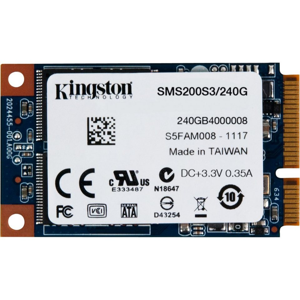 Kingston Solid State Drive »SSDNow mS200 SSD 240 GB«