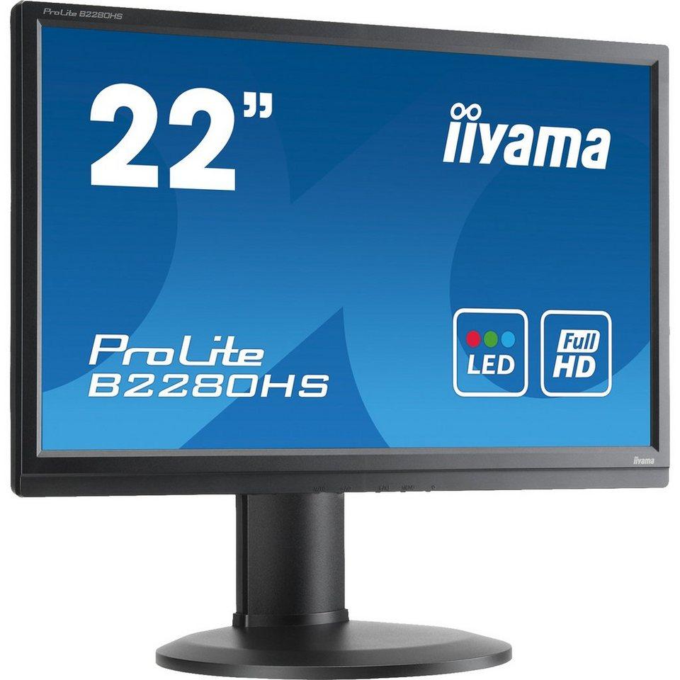 Iiyama LED-Monitor »ProLite B2280HS-B1DP«