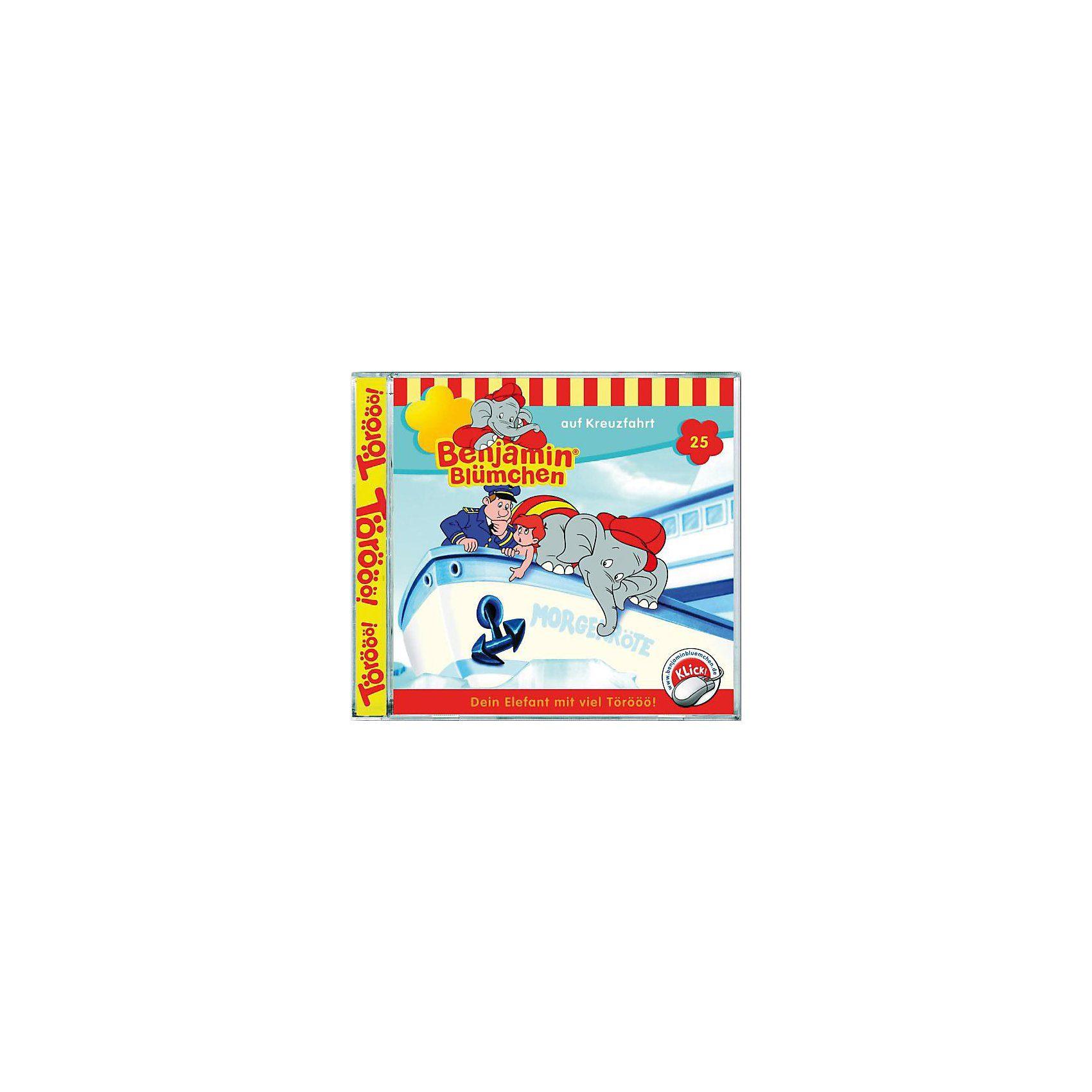 Kiddinx CD Benjamin Blümchen 25 - auf Kreuzfahrt