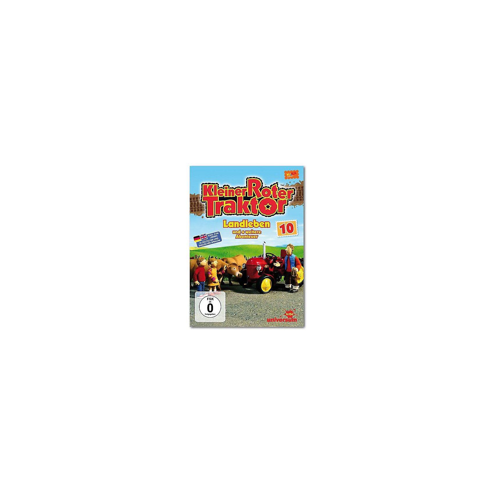 universum DVD Kleiner Roter Traktor 10 - Landleben und 4 weitere Gesch