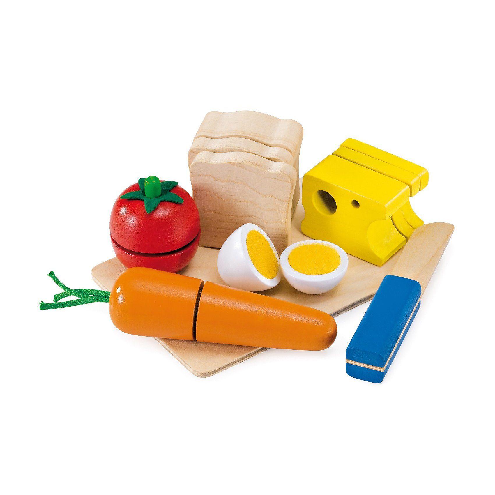 Selecta Spiellebensmittel Picknick Motorikspielzeug