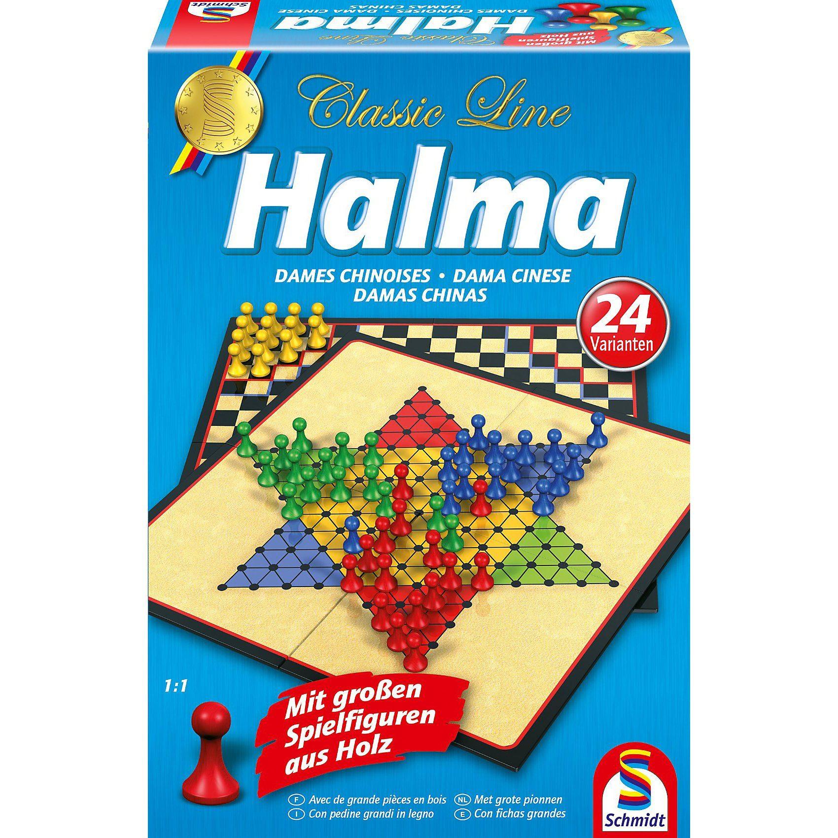 Schmidt Spiele Classic line, Halma