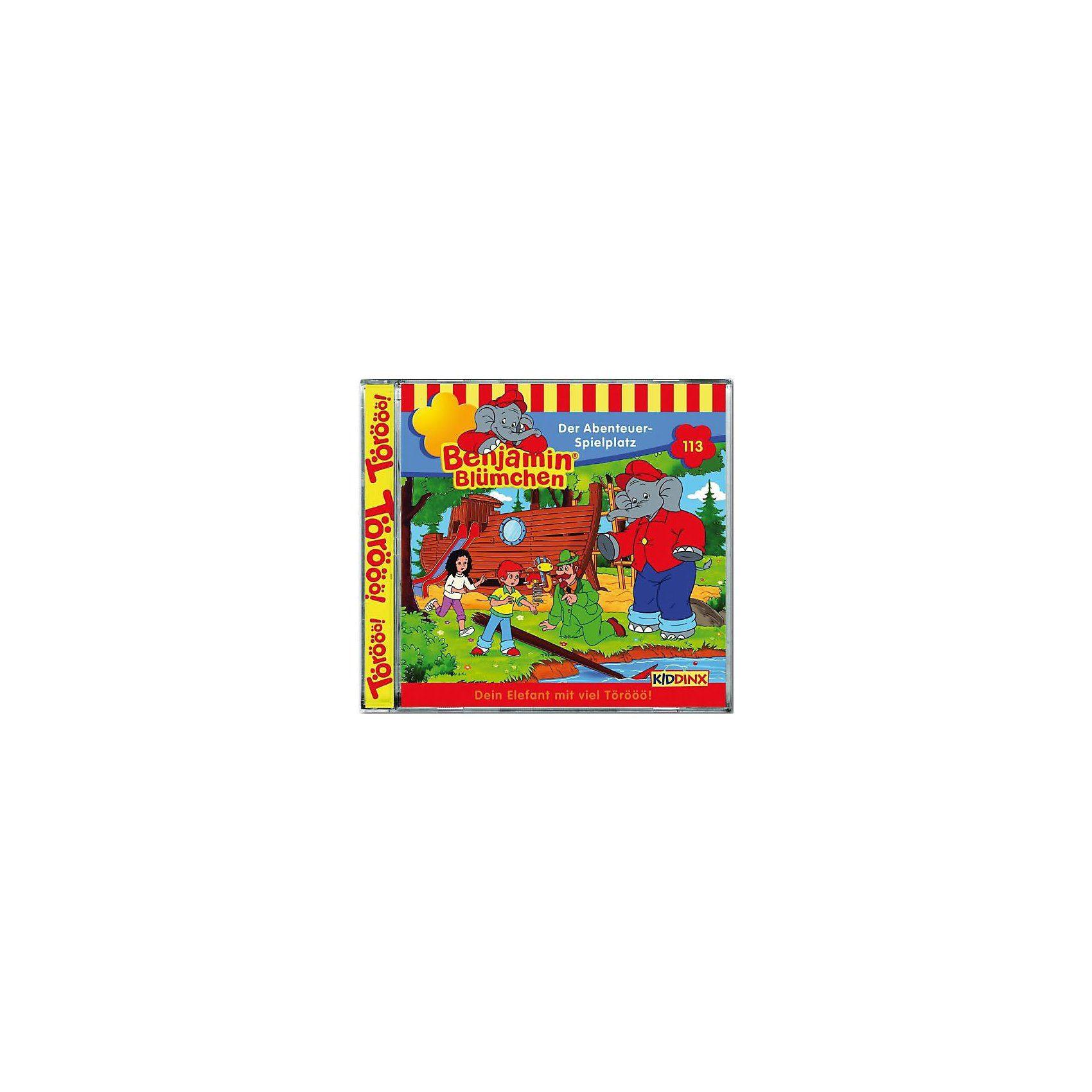Kiddinx CD Benjamin Blümchen 113 - Der Abenteuer - Spielplatz