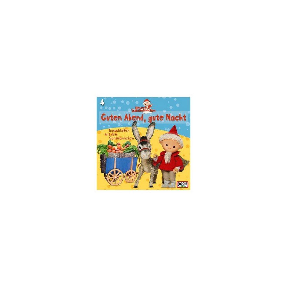 SONY BMG MUSIC CD Unser Sandmännchen 4 - Guten Abend, gute Nacht