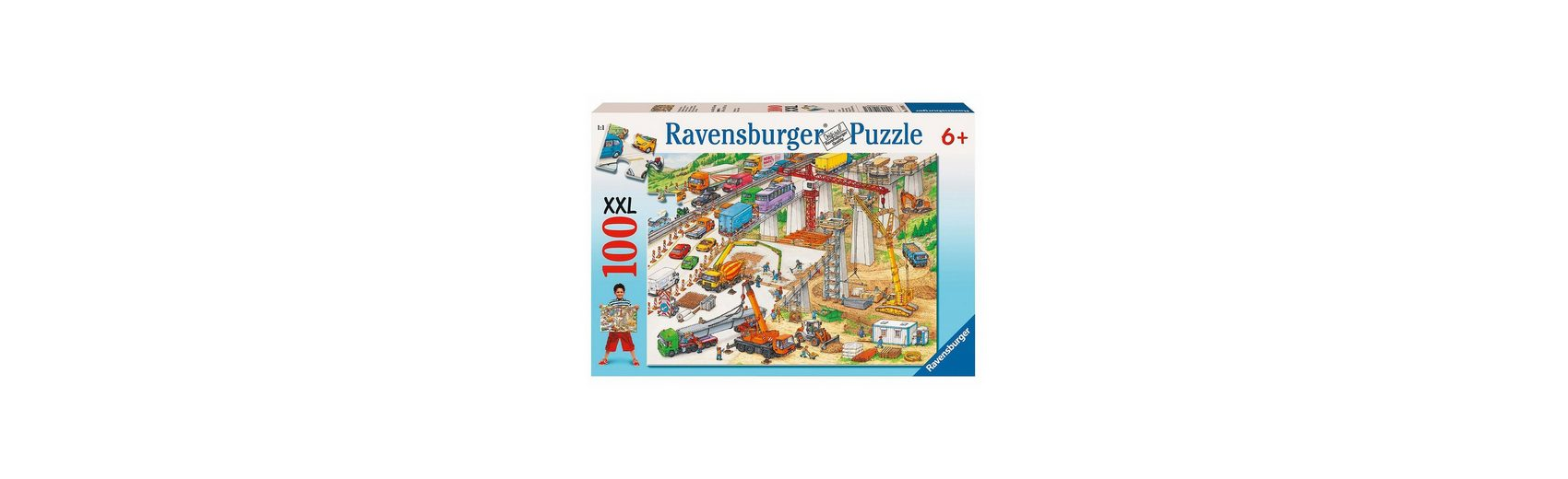 Ravensburger Puzzle XXL 100 Teile Riesige Baustelle