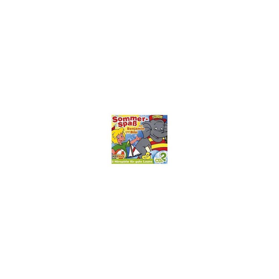 Kiddinx CD Benjamin und Bibi - Sommerspaß mit Benjamin und Bibi 2 CD
