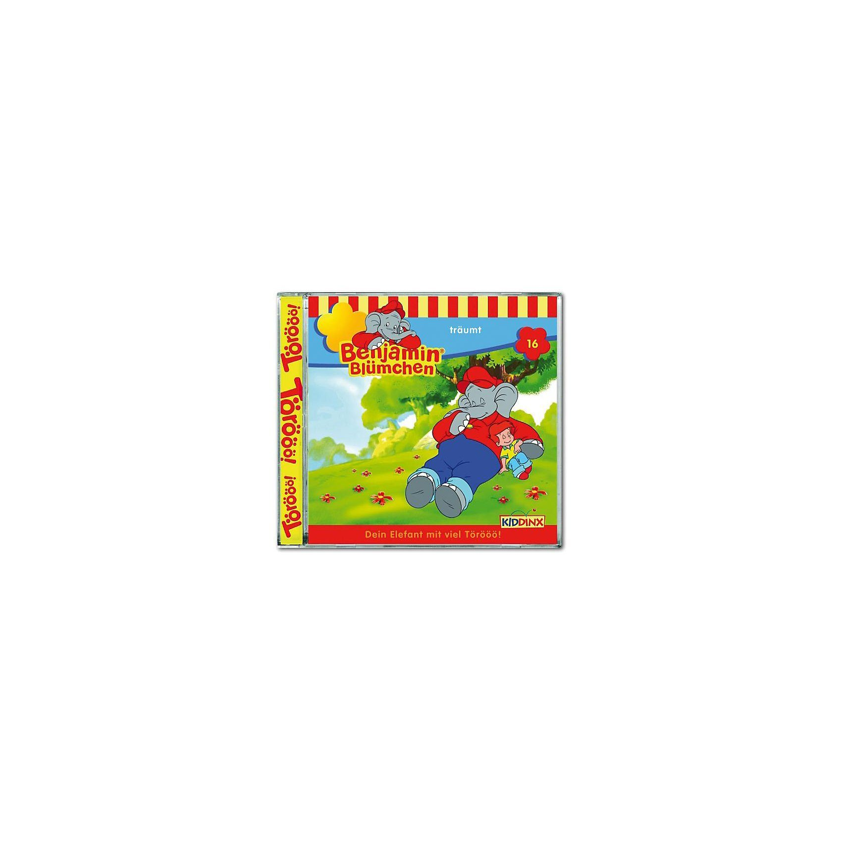 Kiddinx CD Benjamin Blümchen 16 - träumt
