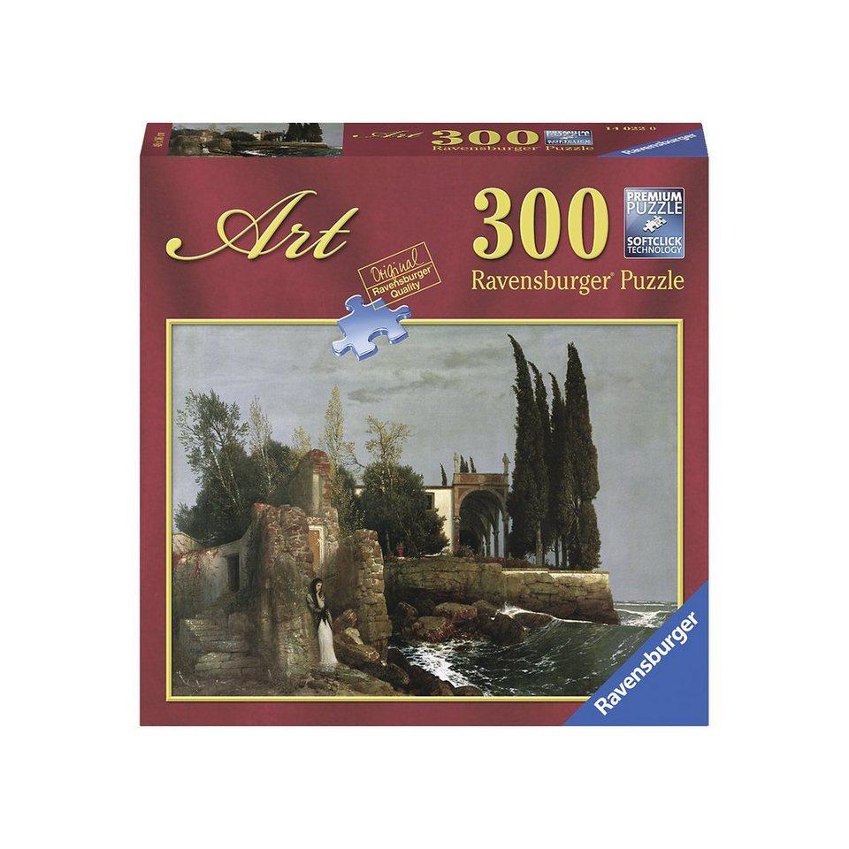 Ravensburger Puzzle 300 Teile Böcklin: Villa am Meer