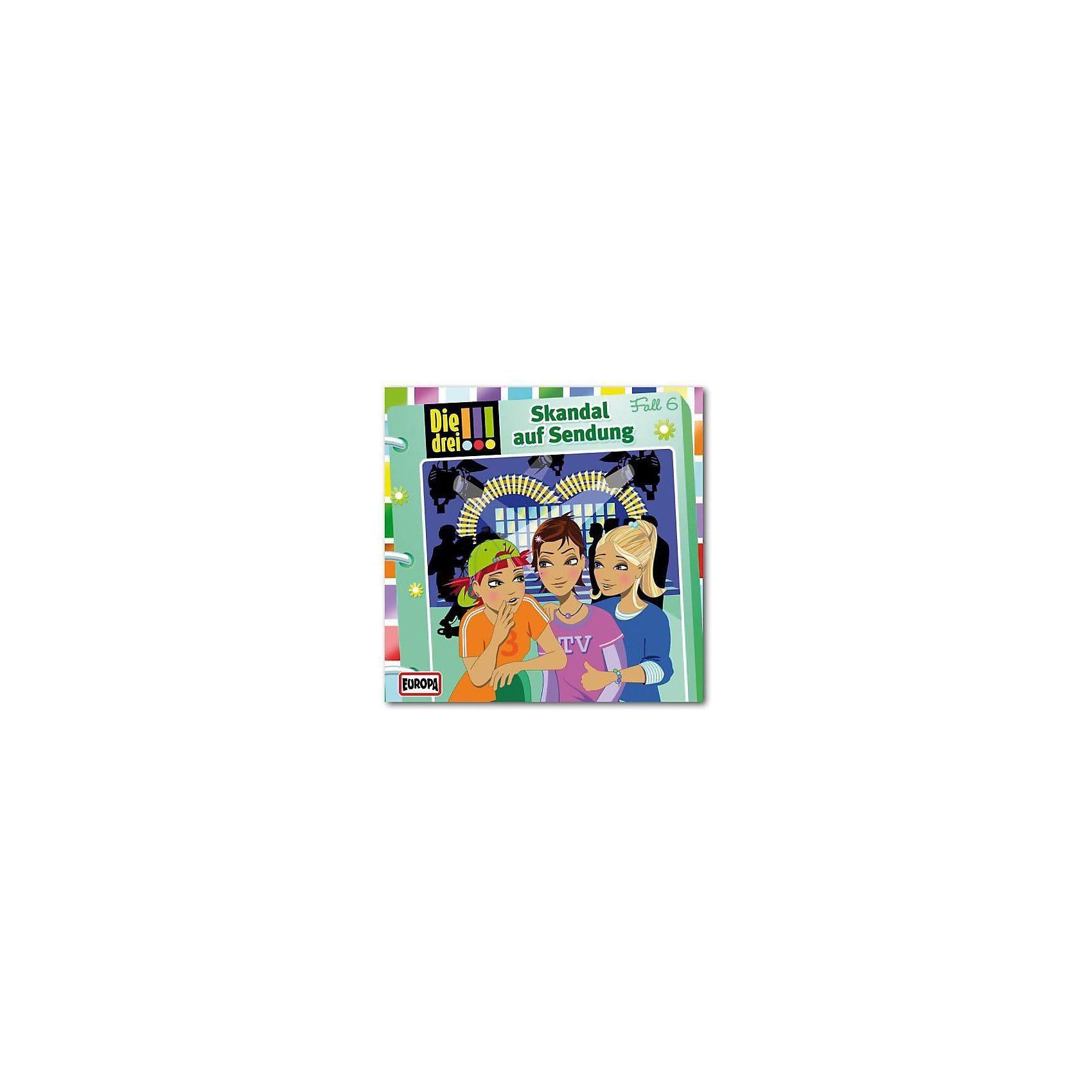 Sony CD Die Drei !!! 06 - Skandal auf Sendung
