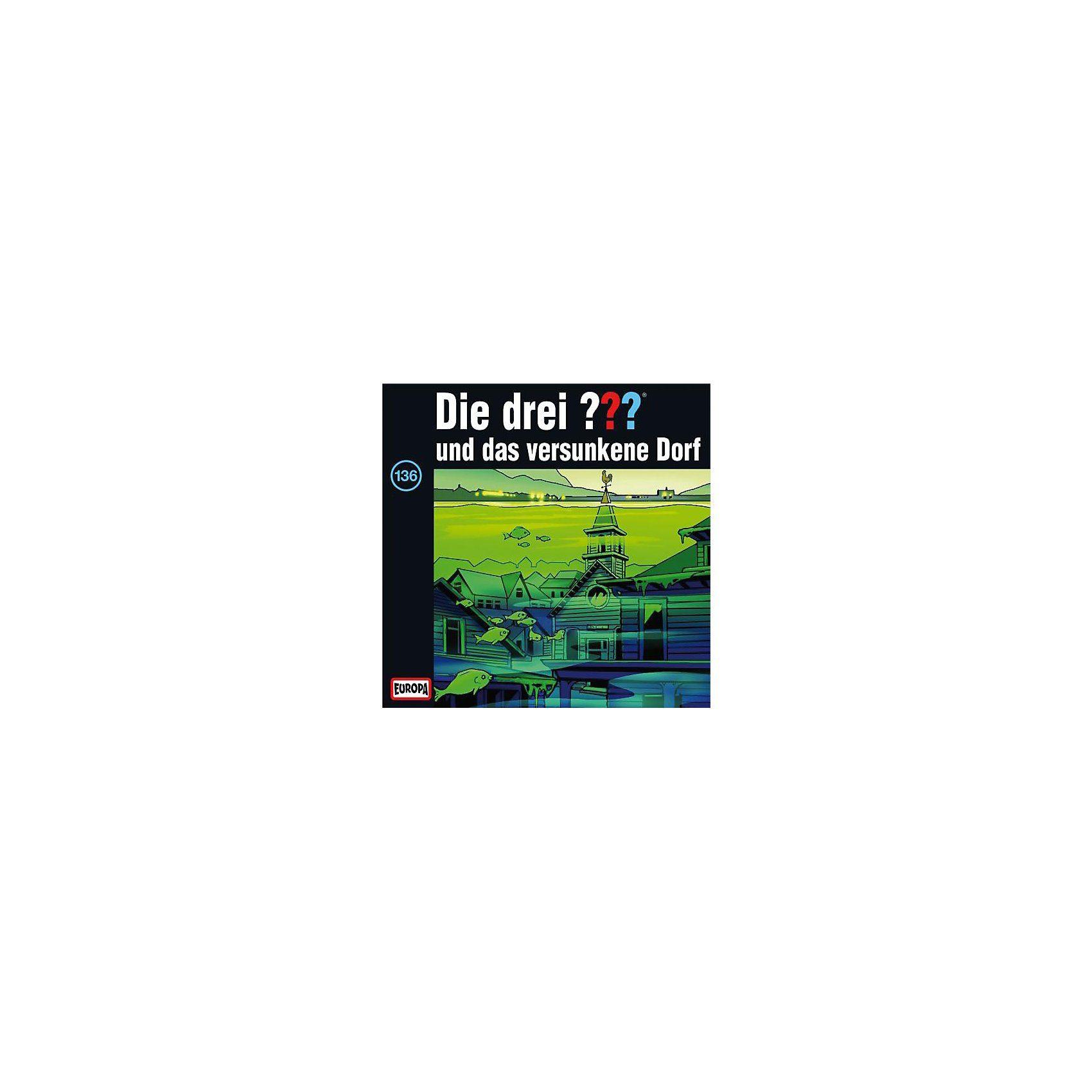 SONY BMG MUSIC CD Die Drei ??? 136 - und das versunkene Dorf