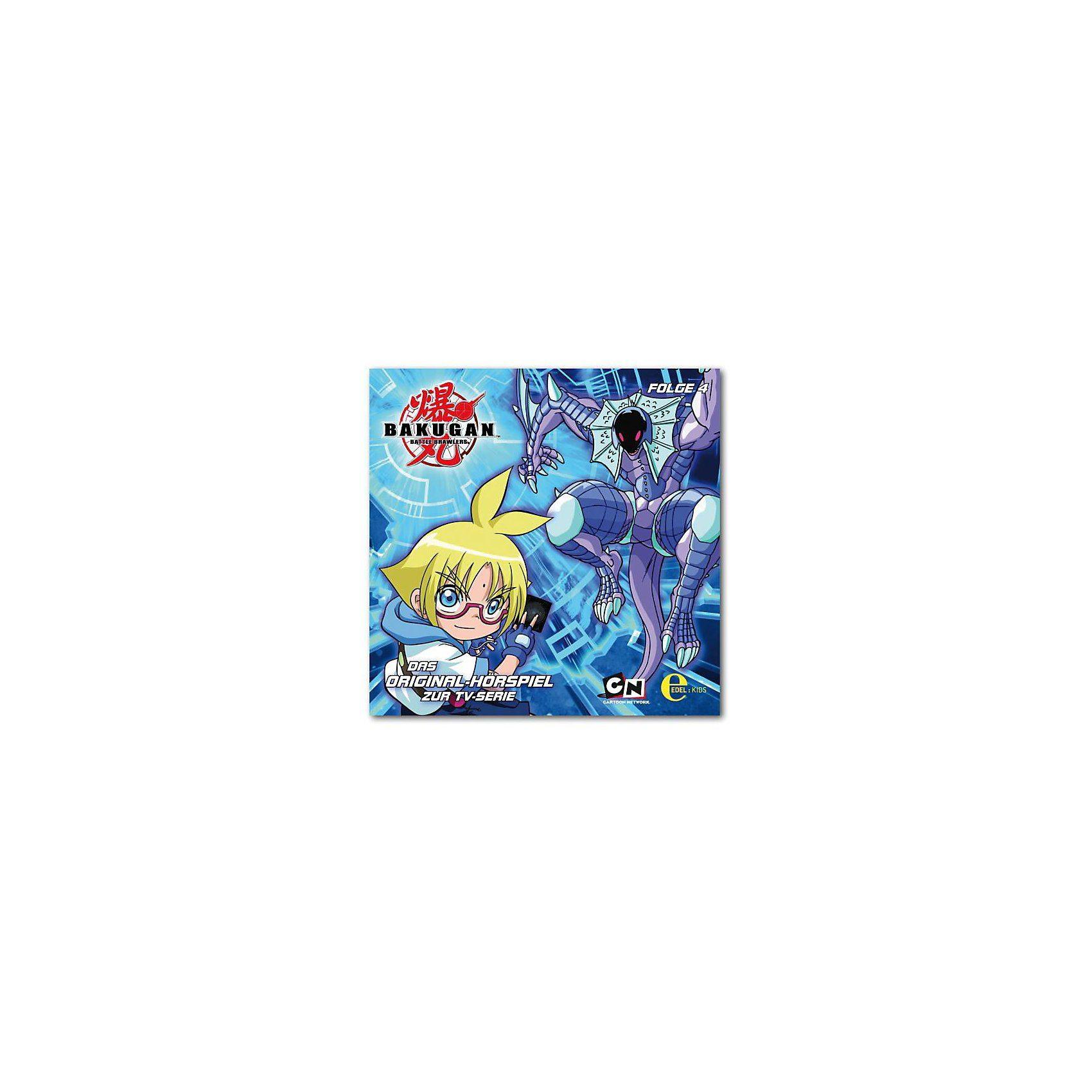 Edel Germany GmbH CD Bakugan - Spieler des Schicksals 04 Original - Hörspiel z
