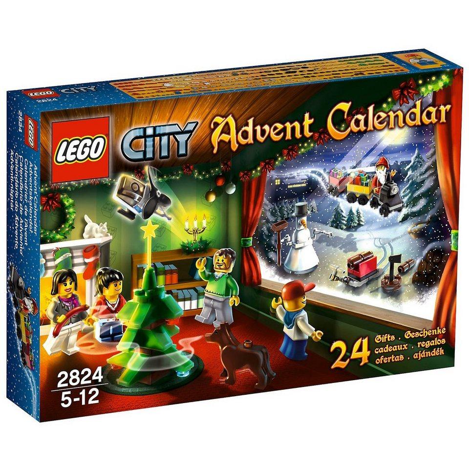Lego 2824 city adventskalender online kaufen otto for Duplo adventskalender