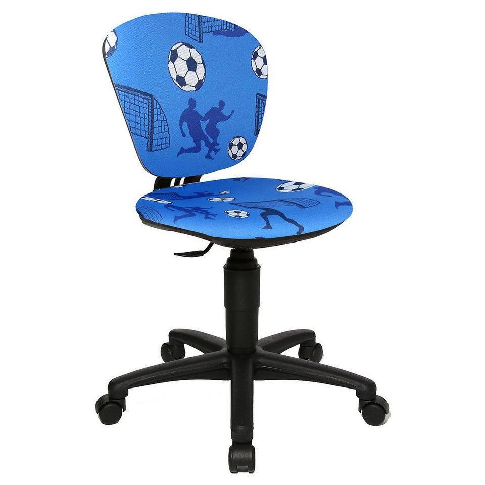 Topstar Drehstuhl High Power Soccer in blau
