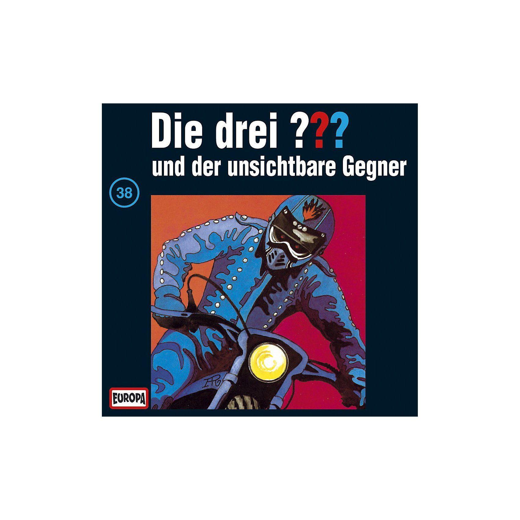 Sony CD Die Drei ??? 038/und der unsichtbare Gegner