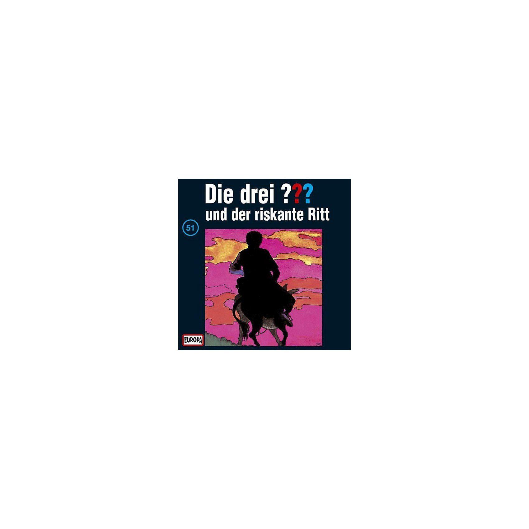 SONY BMG MUSIC CD Die Drei ??? 051/und der riskante Ritt