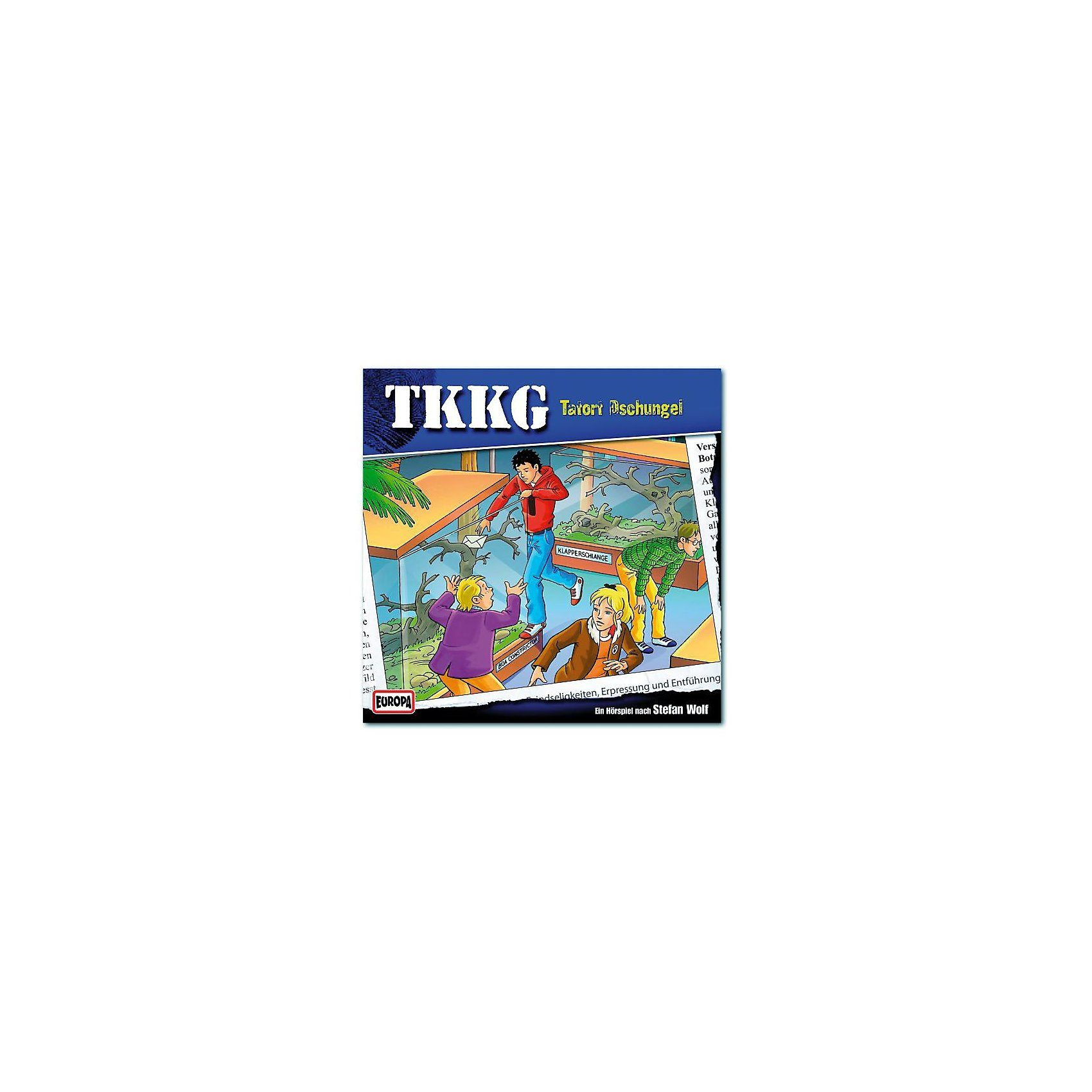 SONY BMG MUSIC CD TKKG 169 - Tatort Dschungel