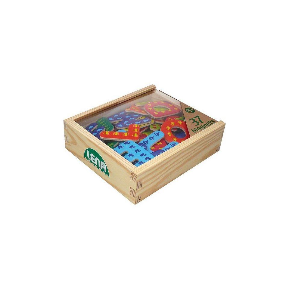 LENA Holz Magnet Buchstaben