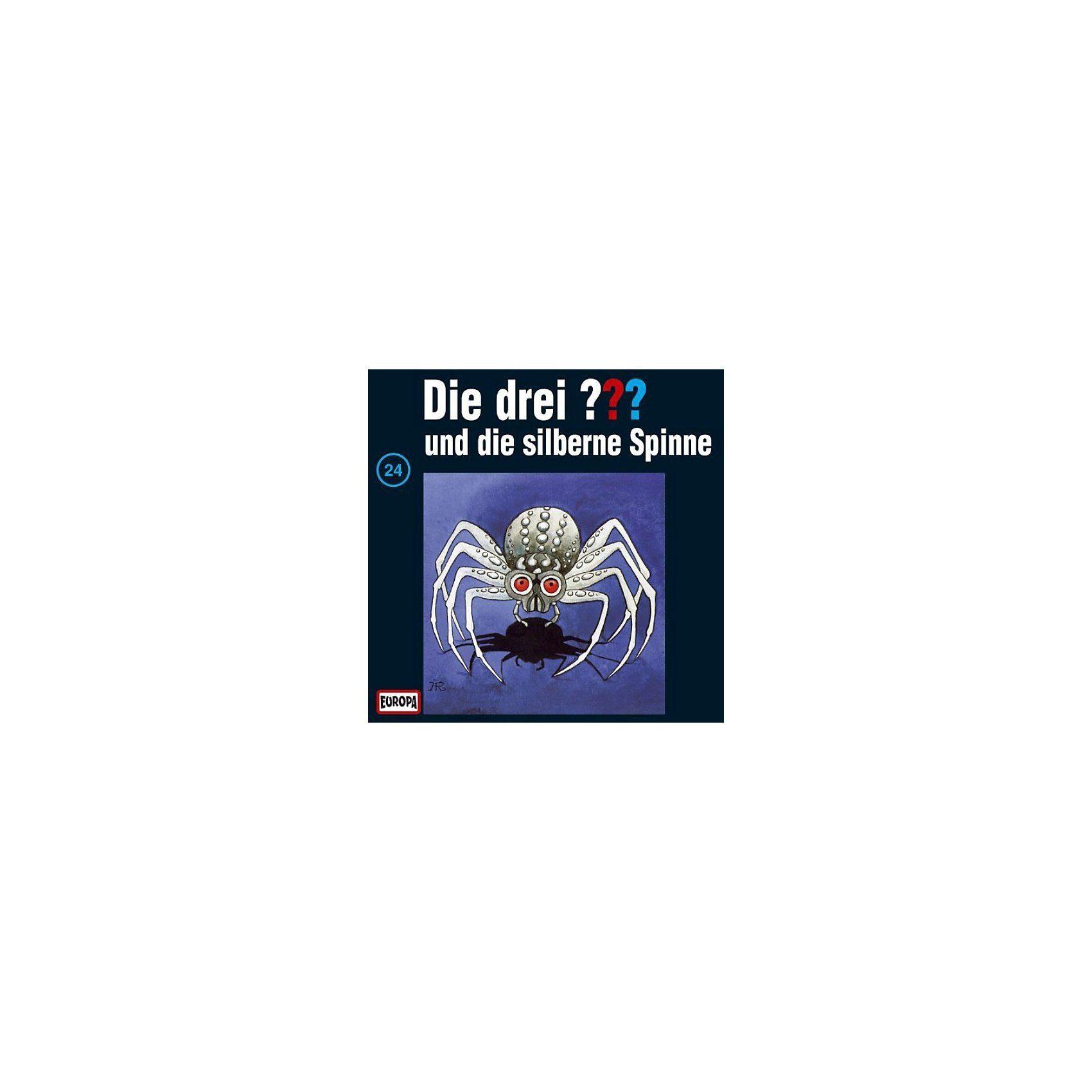Sony CD Die Drei ??? 024/und die silberne Spinne