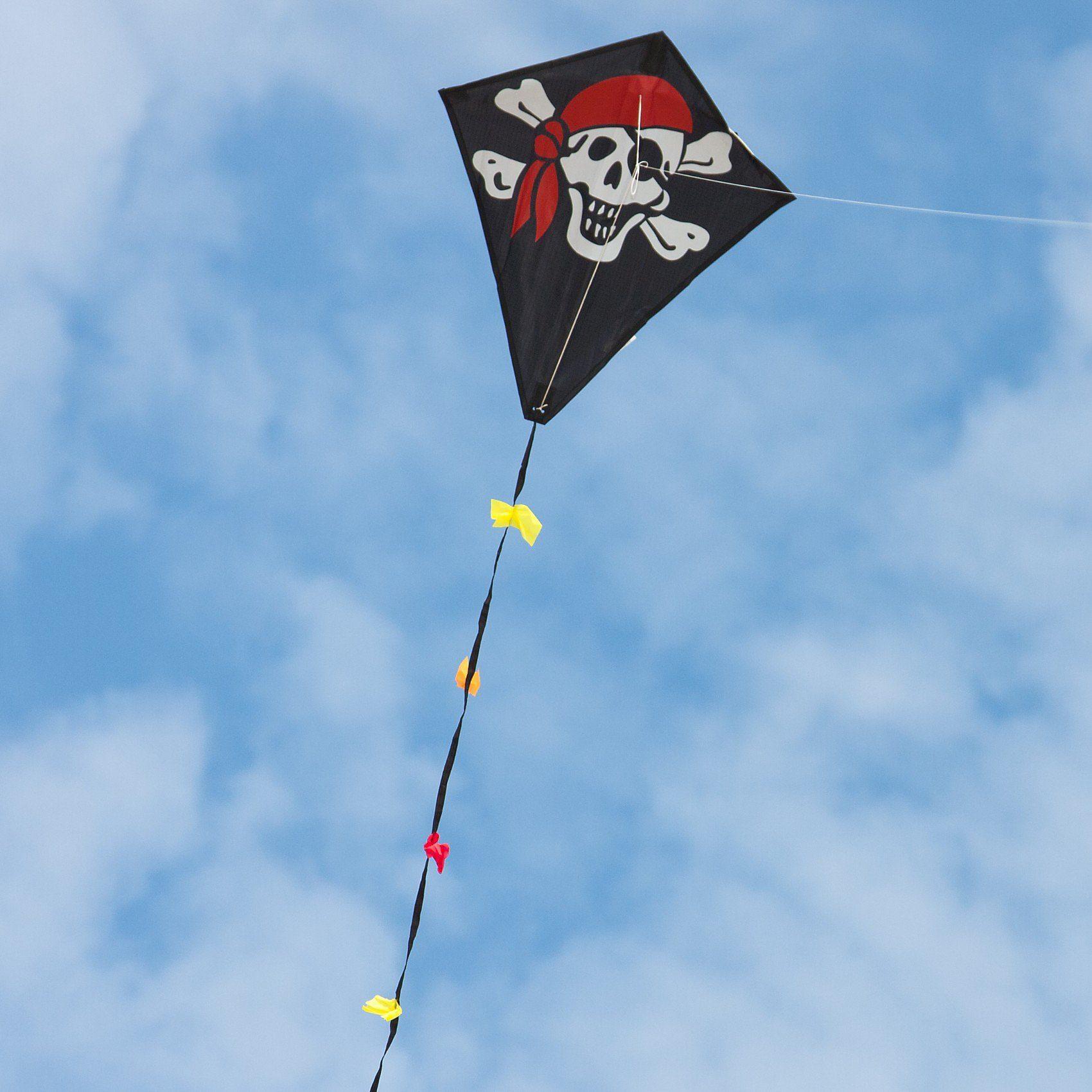 HQ Drachen Eco Line Eddy Jolly Roger 50cm