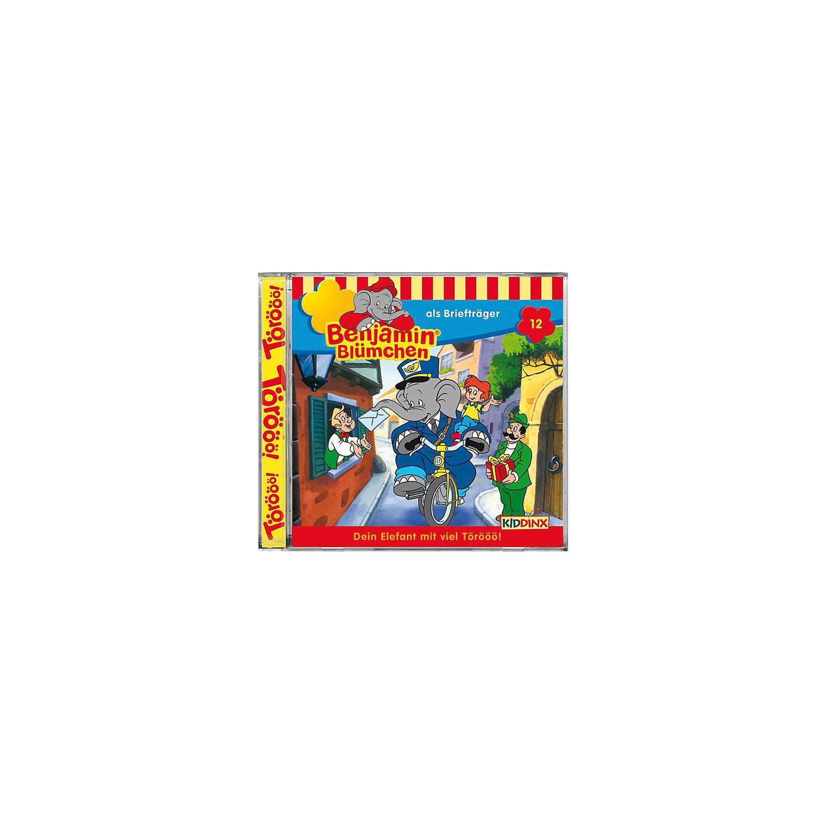 Kiddinx CD Benjamin Blümchen 12 -als Briefträger