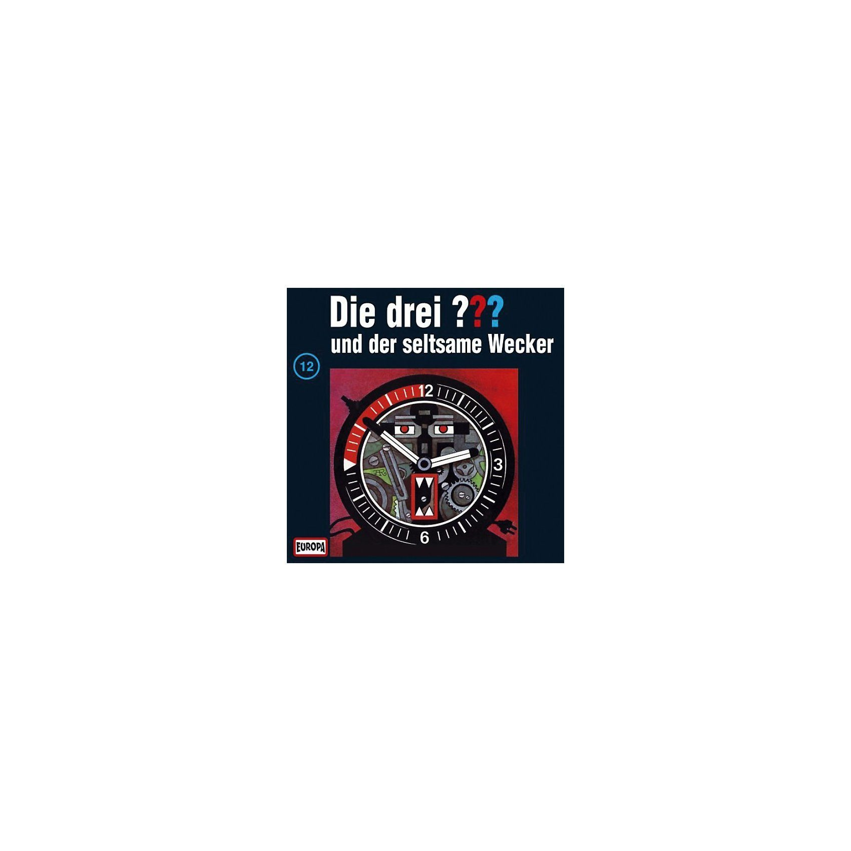 Sony CD Die Drei ??? 012/und der seltsame Wecker
