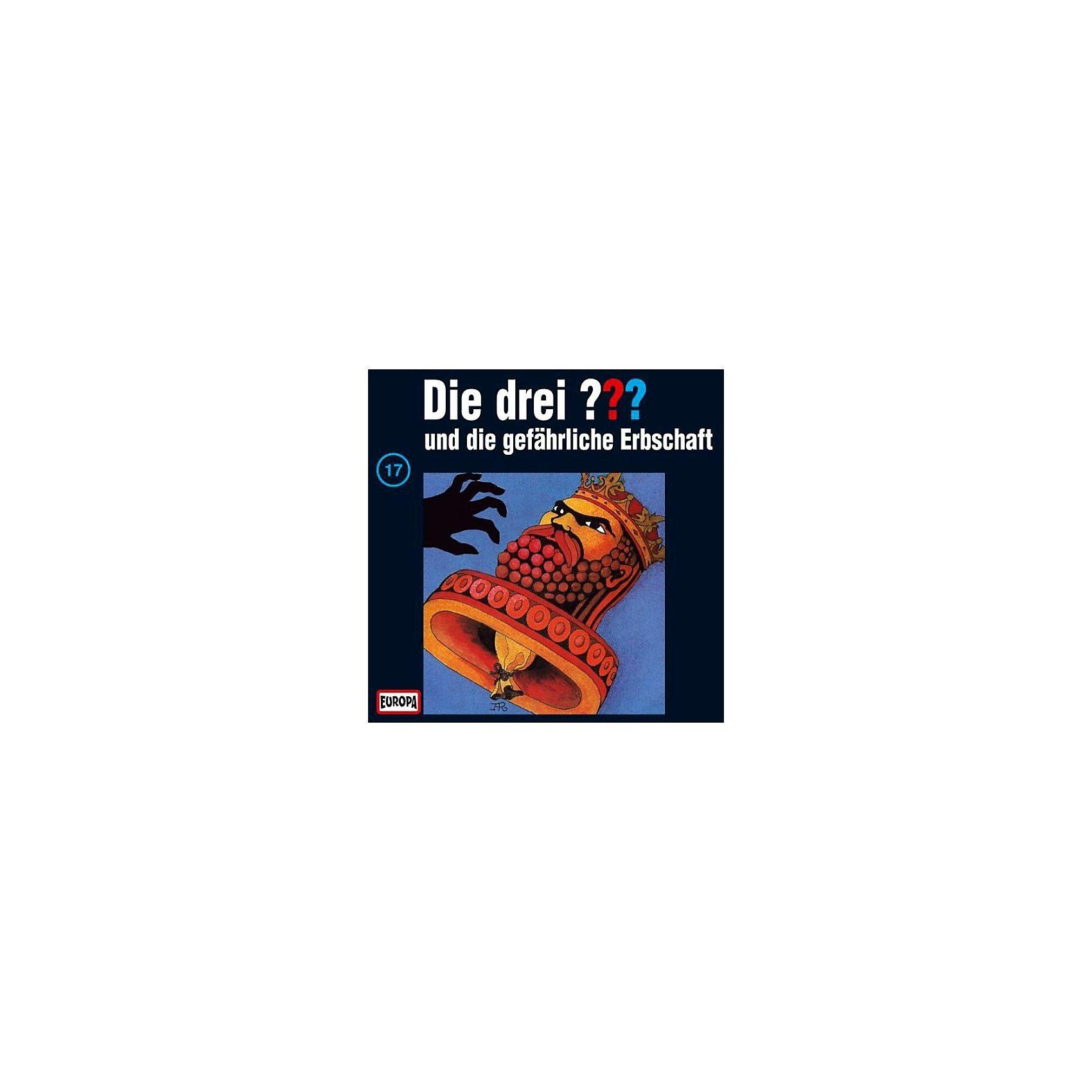 SONY BMG MUSIC CD Die Drei ??? 017/und die gefährliche Erbschaft