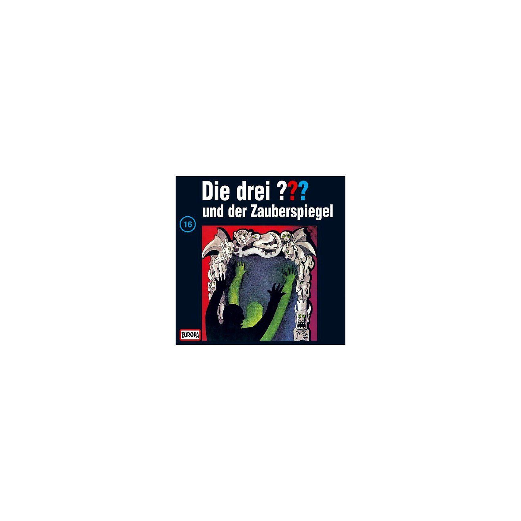 SONY BMG MUSIC CD Die Drei ??? 016/und der Zauberspiegel
