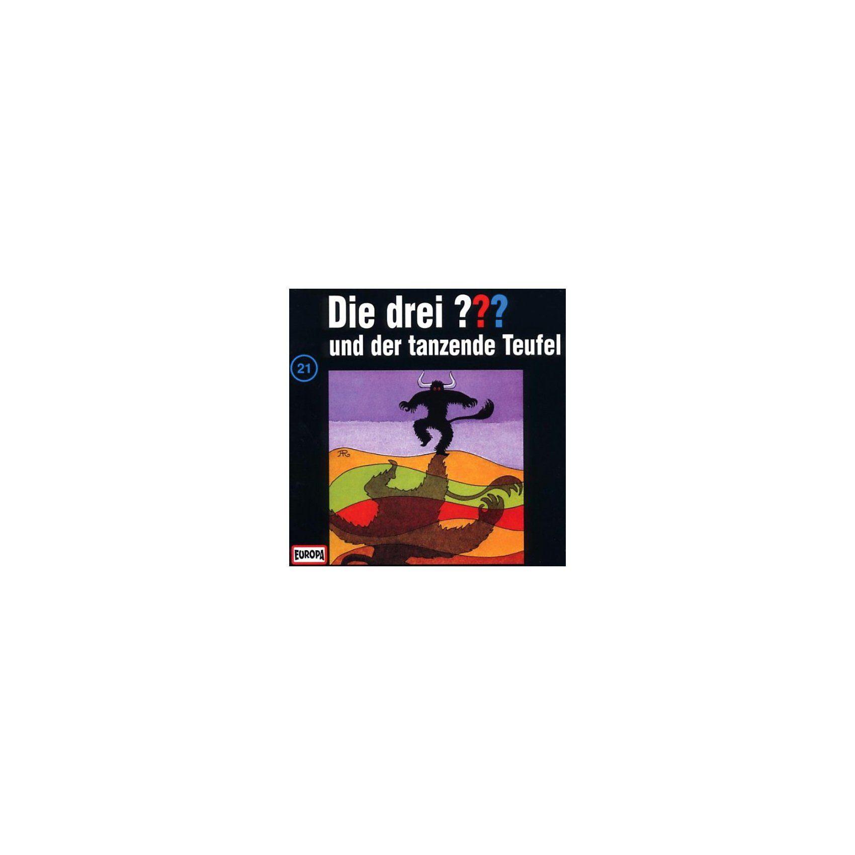 Sony CD Die Drei ??? 021/und der tanzende Teufel