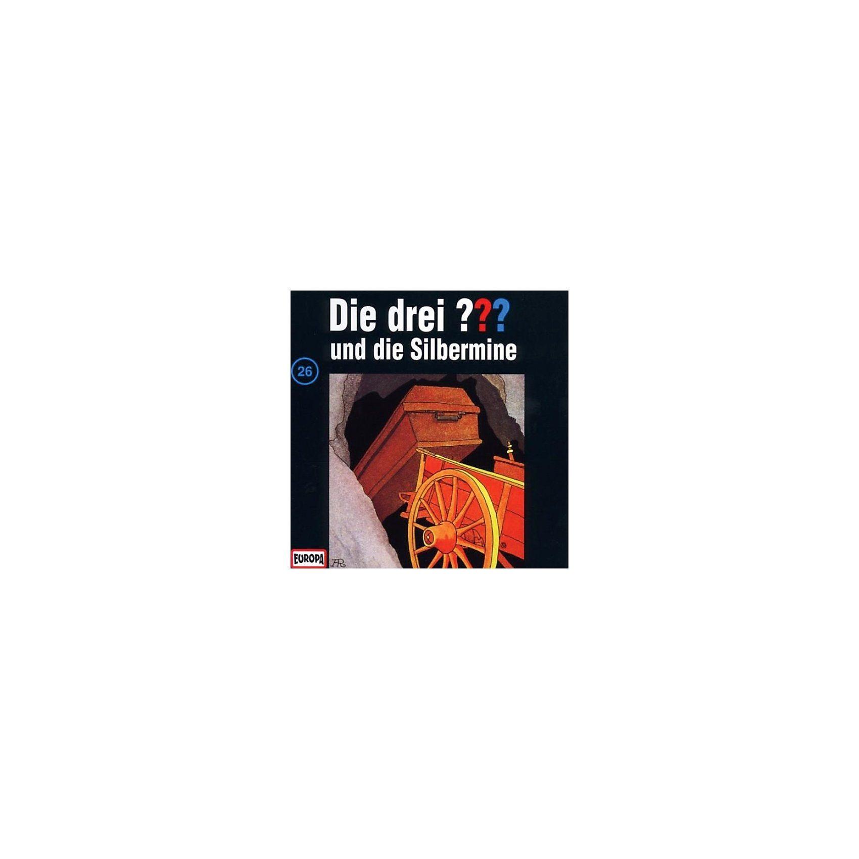 Sony CD Die Drei ??? 026/und die Silbermine